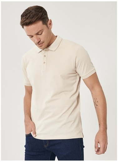 Altınyıldız Classics Altinyildiz Classic T-Shirt Bej
